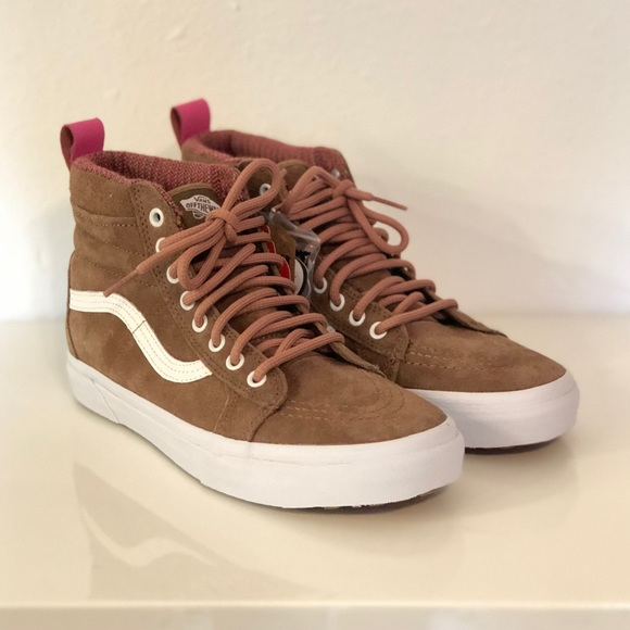 719dcec342 Vans Sk8 Hi MTE Toasted Coconut True White NWT